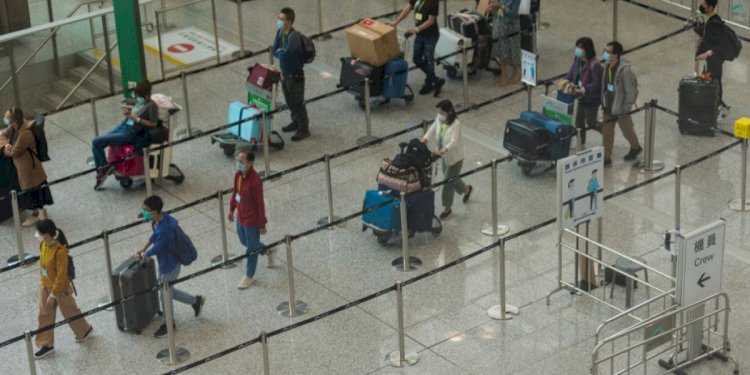 Airlines are trying to develop an alternative to the 14-day quarantine